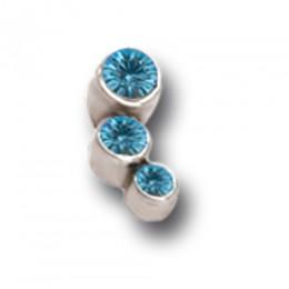 Schraubaufsatz für 1.2mm Labret Kristalle