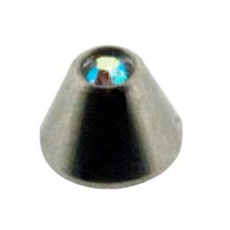 Aufschraubspitze mit Kristall Stein