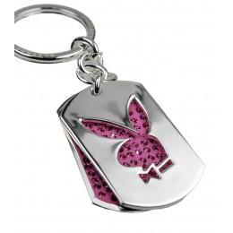 Playboy-Schlüsselanhänger 2-teilig pink, B-Ware