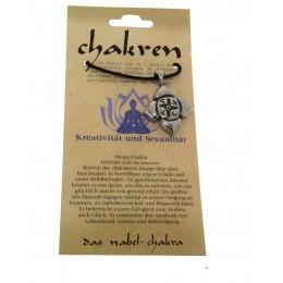 Kettenanhänger - das Nabel-Chakra