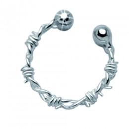Brustwarzen Clip groß aus 925 Sterling Silber gross