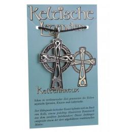 Anhänger keltische Legenden - Keltenkreuz Symbol