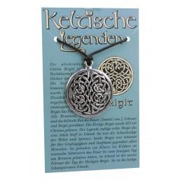 Anhänger keltische Legenden - Brigit Symbol