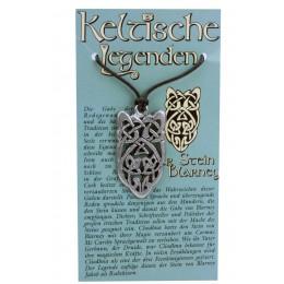 Kettenanhänger keltische Legenden - Stein von Blarney Symbol