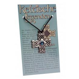 Anhänger keltische Legenden - Druiden Symbol mit Swarovski