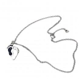 925 Sterling Silber Fußkettchen, Erbskette mit Federring