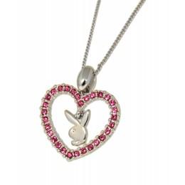 Playboy Halskette mit Herz-Anhänger