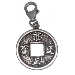 Anhänger Chinesische Münze aus 925 Sterling