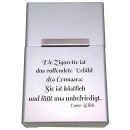 Zigarettenetui aus Aluminium