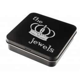 Schmuck-Box aus Metall mit Ihrer Gravur