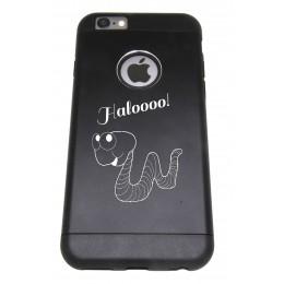 Handy Cover für iphone6 mit Gravur - schwarz