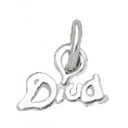 Nagelpiercing mit Schriftzug Diva