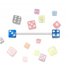 Neon-Schraubwürfel in 4mm oder 5mm Durchmesser in vielen bunten UV-Farben