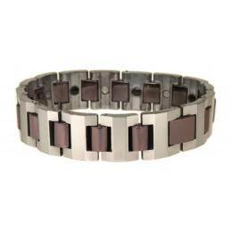Armband aus Tungsten, zweifarbig, 20cm