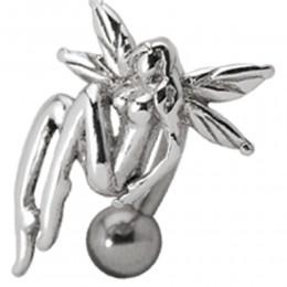 Bauchnabelpiercing mit Elfen Design
