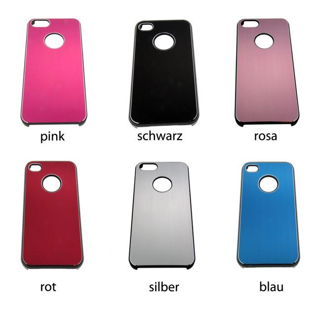 handyh lle aus aluminium f r iphone4 verschiedene farben. Black Bedroom Furniture Sets. Home Design Ideas