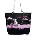 French Kitty Schultertasche 43x36x16cm