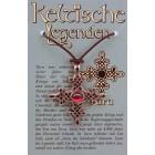 Anhänger keltische Legenden - Tara Symbol mit Swarovski