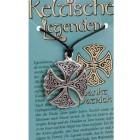 Kettenanhänger keltische Legenden - Sankt Patrick Symbol