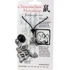 """Chinesisches Horoskopzeichen """"Ratte"""", Zinn, Kordel&Karte"""