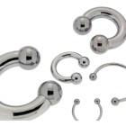 Hufeisen Piercing3,2mm Stärke