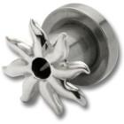 Ohrplug mit Strahlen Design 4-8mm