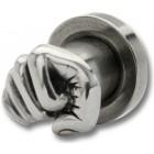 Ohrplug mit Faust Design 4-6mm