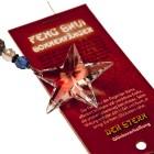 Feng Shui Sonnenfänger Stern mit großem Swarovski Kristall