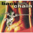 Back Belly Chain Salamander aus 925 Sterling Silber