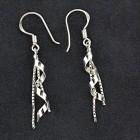 Ohrhänger aus 925 Sterling Silber mit Spiraldesign